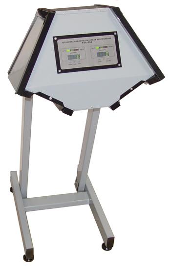 Установка радиометрическая контрольная РЗА-05Д